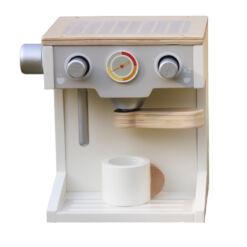 מכונת קפה מעץ צעצוע לילדים