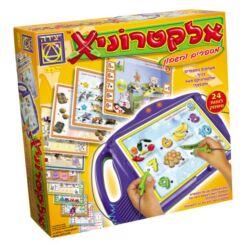 משחק אלקטרוניקס מספרים וחשבון - משחקים במספרים בכיף ואלקטרוניקס מאיר ומצפצף!