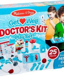 ערכה משחק רופא וחולה