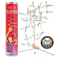 מליסה ודאג - סספנד Suspend משחק חשיבה מיוחד ומאתגר לכל בני המשפחה.