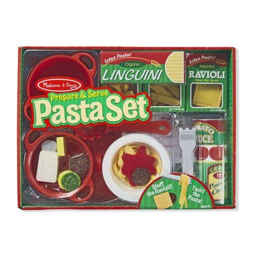 מליסה ודאג - ערכת פסטה מכינים ומגישים כמו גדולים.