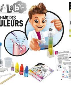 BUKI - בוקי צרפת  מיני מעבדת כימיה לחקר הצבעים