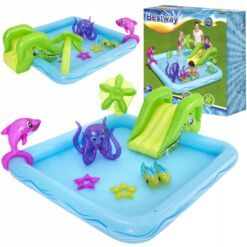 מתנפחים, בריכת מים מתנפחת לילדים, בעיצוב אקווריום