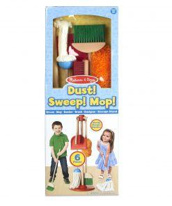 מליסה ודאג - ערכת כלי ניקוי לבית מעץ