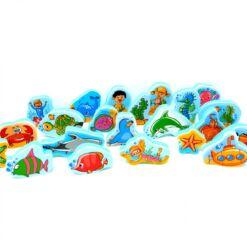 משחקי מים ושולחן - עולם הים
