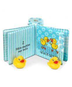 מליסה ודאג - ספר אמבטיה עם צעצועי ברווזים