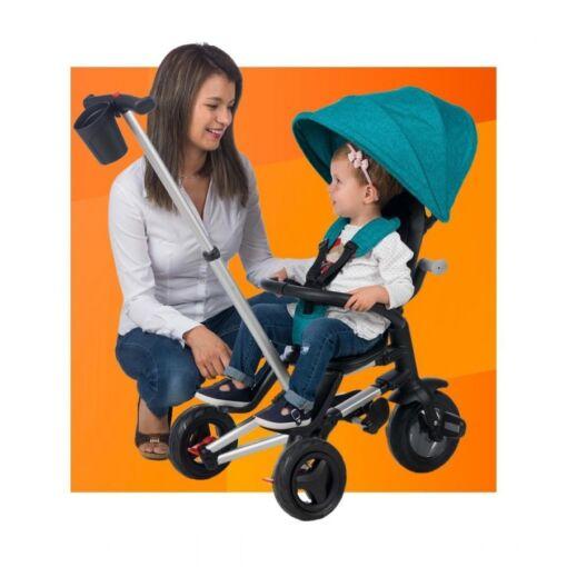 תלת אופן מפואר מתקפל מסתובב מבית Qplay דגם Nova, תלת האופן האולטימטיבי לילד שלכם.