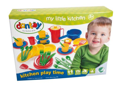 מארז כלי מטבח מפלסטיק הכולל 42 חלקים