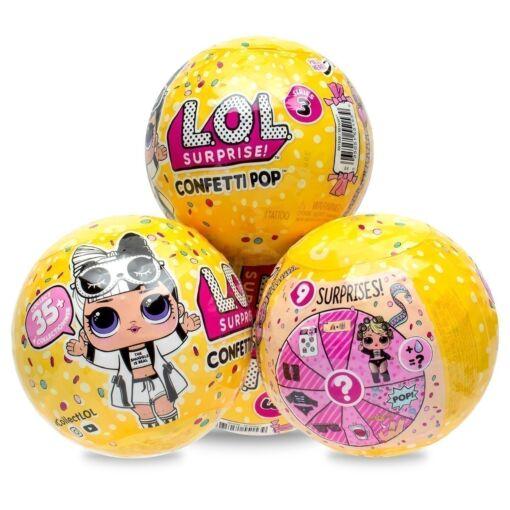 LOL - לול CONFETII POP קונפטי פופ