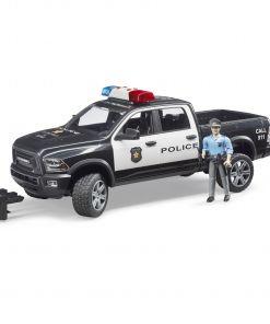ג'יפ Ram 2500 Power Wagon משטרה + שוטר