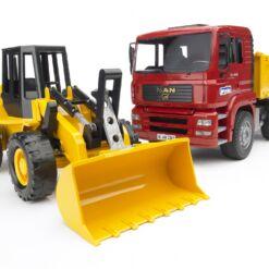 משאית MAN TAG +טרקטור FR130