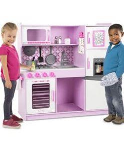 מליסה ודאג - מטבח ורוד מעץ איכותי לילדים