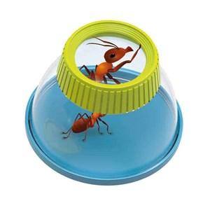 זכוכית מגדלת איכותית מאד עם סוגר לחקר לחרקים מבית בוקי צרפת