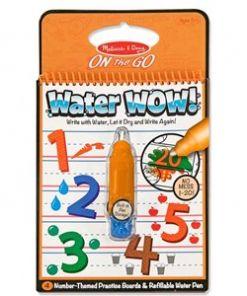 מליסה ודאג - חוברת טוש מים מספרים