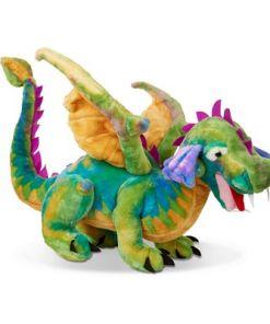 מליסה ודאג - בובת דרקון גדול מבית מליסה ודאג