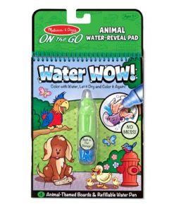 מליסה ודאג - חוברת טוש המים- חיות מבית מליסה ודאג