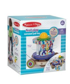 מליסה ודאג - צעצוע משיכה קרוסלה מבית מליסה ודאג
