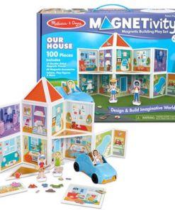מליסה ודאג - הבית שלנו - משחק הרכבה ובנייה מגנטי