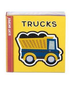 מליסה ודאג - הפאזל הראשון שלי - ספרון לתינוקות משאיות מבית מליסה ודאג
