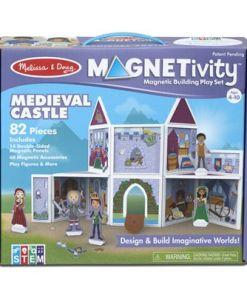 מליסה ודאג - משחק מגנטים לילדים טירה מימי הביניים מליסה ודאג