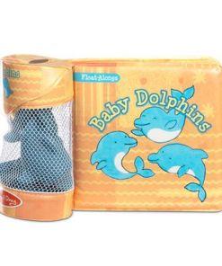 מליסה ודאג - ספר אמבטיה עם דולפינים מבית מליסה ודאג