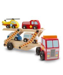 מליסה ודאג - רכב נושא רכבי הצלה