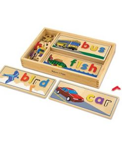 מליסה ודאג - ראה ואיית - צעצוע למידה מבית היוצר מליסה ודאג