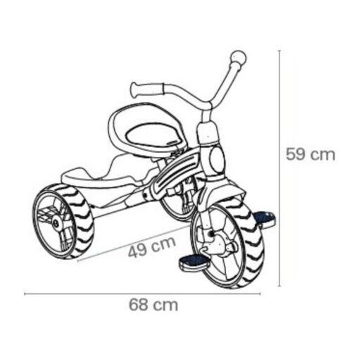 אופני איזון לילדים מבית QPlay Elite