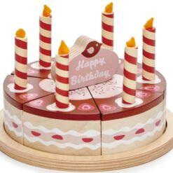 טנדר ליפ Tender Leaf - עוגת שוקולד יום הולדת מעץ 14 חלקים