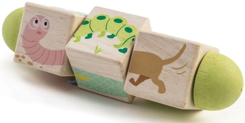 טנדר ליפ Tender Leaf - קוביות מסתובבות 4 דמויות - חיות