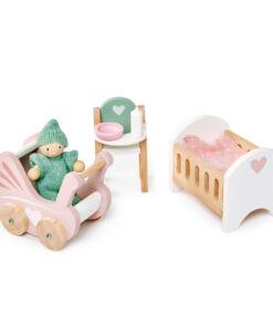 טנדר ליפ Tender Leaf - ריהוט לבית בובות - חדר תינוקות 3 חלקים
