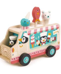 טנדר ליפ Tender Leaf - מכונית הגלידה של פינגווין