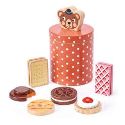 טנדר ליפ Tender Leaf - קופסת העוגיות של הדוב מעץ 8 חלקים