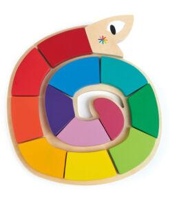 טנדר ליפ - נחש הרכת צורות צבעוני