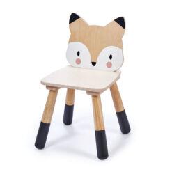 טנדר ליפ Tender Leaf - כסא מעוצב מעץ מלא מסדרת חיות היער - שועל