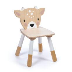טנדר ליפ Tender Leaf - כסא מעוצב מעץ מלא מסדרת חיות היער - אייל