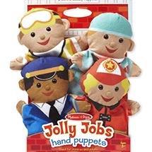 מליסה ודאג - בובות יד תפקידים