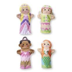 מליסה ודאג - בובות יד נסיכות