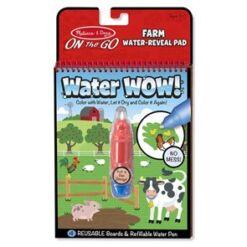 מליסה ודאג - חוברת טוש מים חווה