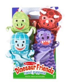 מליסה ודאג - ערכת בובות יד דינוזאורים מבית מליסה ודאג