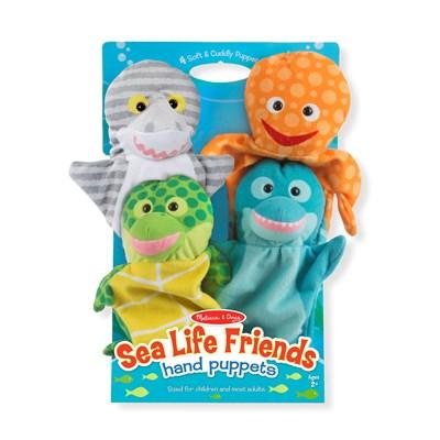 מליסה ודאג - ערכת בובות יד חיות ים מבית מליסה ודאג