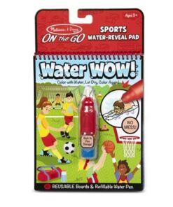 מליסה ודאג - חוברת טוש המים- ספורט