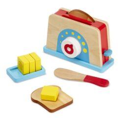 מליסה ודאג - ערכת טוסט מעץ בתוספת חמאה ותפריט מבית מליסה ודאג