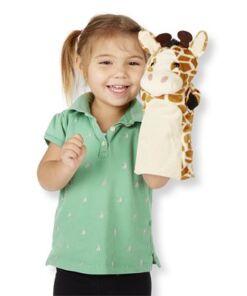 מליסה ודאג - סט בובות יד- גן החיות