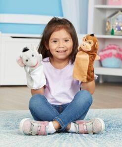 מליסה ודאג - סט 6 בובות יד ספארי
