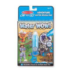 מליסה ודאג - חוברת טוש המים-הרפתקאות