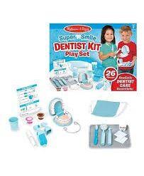 מליסה ודאג - סופר חיוך, סט משחק רופאי שיניים
