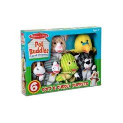 מליסה ודאג - בובות יד חיות מחמד מבית מליסה ודאג