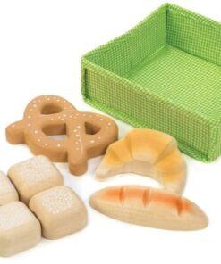 טנדר ליפ Tender Leaf - סלסלת משחק 6 חלקים מעץ - לחם
