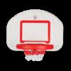 מתקן ספורט לילדים, סט כדורסל מקצועי נתלה לחצר לילדים, הכולל רשת סל, קל לפירוק והרכבה